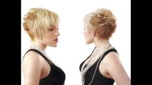 thin fine spiked hair shaggy pixie cut makes women look cute for thin hair women youtube