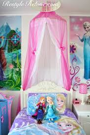 little girls frozen bedroom u2013 restyle relove