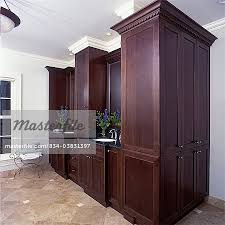 Floor To Ceiling Cabinet by Bathrooms Master Bathrooms Upscale Granite Flooring Two