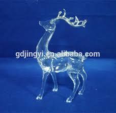 selling acrylic reindeer figurines decoration buy