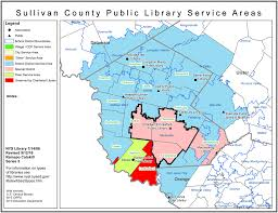 County Map New York by Sullivan County Find Your Public Library In New York State