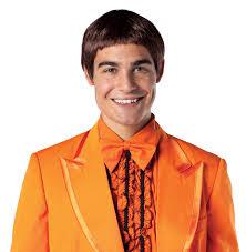 dumb dumber halloween costumes c715 men dumb and dumber llyod orange tuxedo halloween fancy dress