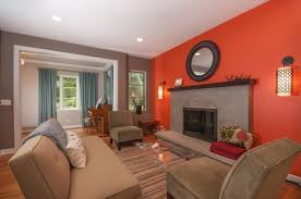 peachy orange paint color home design u0026 architecture cilif com