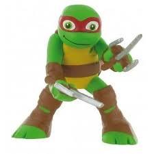 tmnt cake topper turtles half shell heroes raphael tmnt comansi figure cake