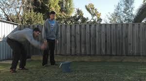 diy how ridiculous backyard golf challenge disney australia