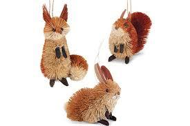woodland animal ornaments lizardmedia co