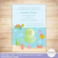 the sea baby shower invitations the sea baby shower invitation 2 june bugs