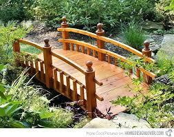backyard bridges backyard garden bridges peaceful backyard garden bridge and gravel