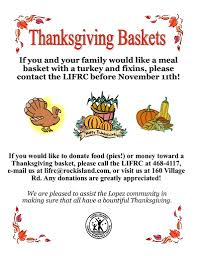 thanksgiving baskets island family resource center