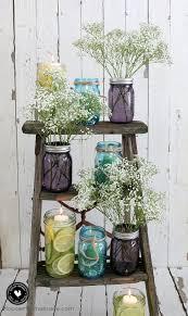 jar table decorations easy jar centerpieces hoosier