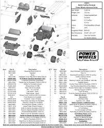cadillac escalade replacement parts replacement parts for power wheels cdd13 cadillac escalade
