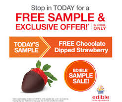 edible arrangement chocolate covered strawberries free chocolate covered strawberry at edible arrangements today