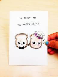 funny wedding card funny engagement card a toast to the happy