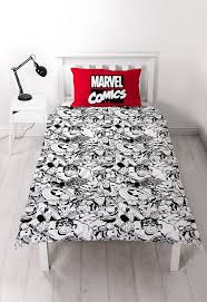 Marvel Bedding Disney Marvel Comics Defenders Single Rotary Duvet Set Amazon Co