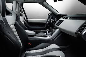 range rover sport interior watch the 2015 range rover sport svr drifting in slow motion photo
