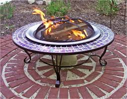 40 Inch Round Table Direct 40 Inch Round Glass Mosaic Fire Pit Table