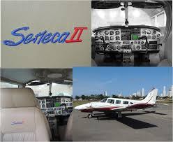sêneca ii brasflight escola de aviação prática para pilotos