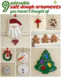 9 adorable salt dough ornaments you t thought of ebay