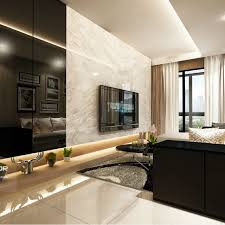 Waterwoods Ec Executive Condo Singapore Interior Design Renovation - Living room design singapore