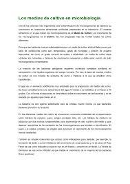 los medios de cultivo en microbiologia by formacion axarquia issuu