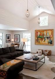 Halogen Floor Lamp Vogue Austin Contemporary Living Room - Family room lighting ideas