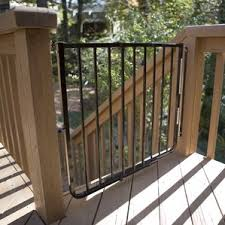 Safety Gate For Stairs With Banister Modern Safety Gates Allmodern