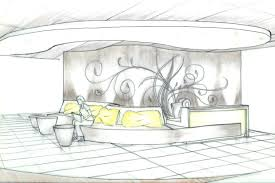 plain interior design office sketches n throughout decorating