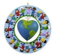 2009 hallmark keepsake ornament world of peace and unicef at