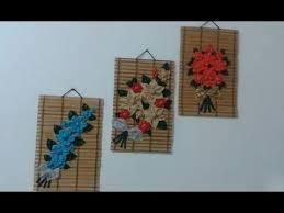 DIY Home Decor  How To Make Fabric Flower For Wall Decor Easy - Home decor textiles