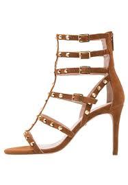 carvela gloss high heeled sandals tan women heeled sandals