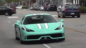 blue ferrari tiffany blue ferrari 458 is double speciale autoevolution