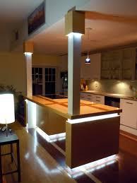 led kitchen lighting how led lighting can enchanting led kitchen lighting home design
