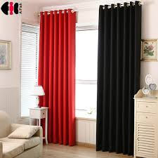 Thick Black Curtains Black Thick Curtain Fabric Blind Blackout Curtains