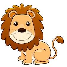 lion picture coloring kids