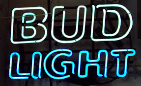 bud light neon signs for sale vintage bud light neon sign post grad problems why you should never