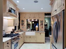 Kitchens With Light Wood Cabinets One Wall Kitchen Ideas And Options Hgtv