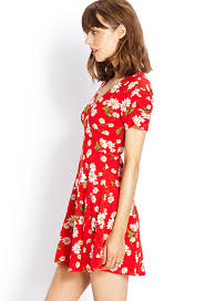 forever 21 retro daisy dress lyst