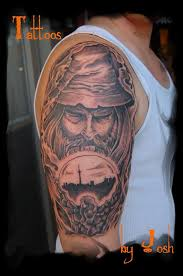 my dad has wanted a wizard tattoo for years with a corporation of