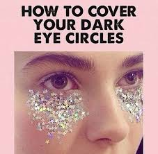 How To Be A Professional Makeup Artist How To Cover Up Dark Circles With Flowers According To A