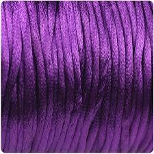 rattail cord beadtin llc purple 2mm rattail cord 90m sr2 054