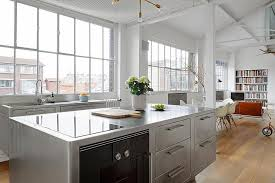 stainless kitchen islands stainless steel kitchen home design ideas and pictures
