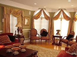 Drapes Ideas Living Room Curtain Ideas Three Windows Decorating Clear