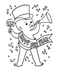 mickey mouse new years coloring pages new years eve coloring pages baby new year in action on years eve