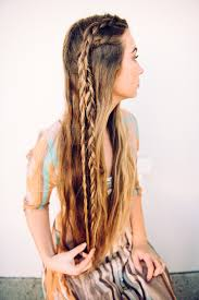 long hair equals hippie 4 simple bohemian hairstyles perfect for your next music festival