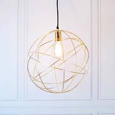 brass globe pendant light gold brass globe ceiling pendant light orb chandelier by made with love