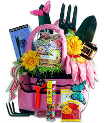 garden gift basket just in time for s day up this gardening basket from