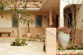 Southwest Landscape Design by Southwest Style Courtyard Design Ideas