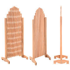 expanding trellis wood fence growing support garden screen divider