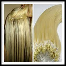 microbead extensions 100 european micro bead ring remy hair extensions shop for