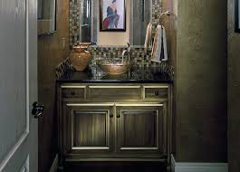 faux painting powder room in kansas city design connection inc